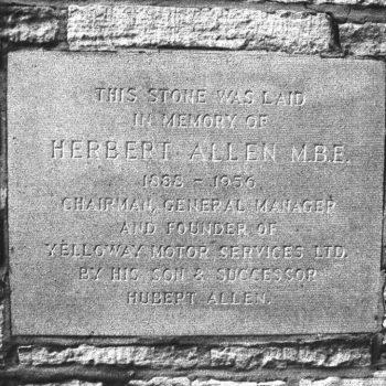 Herbert Allen Memorial Stone